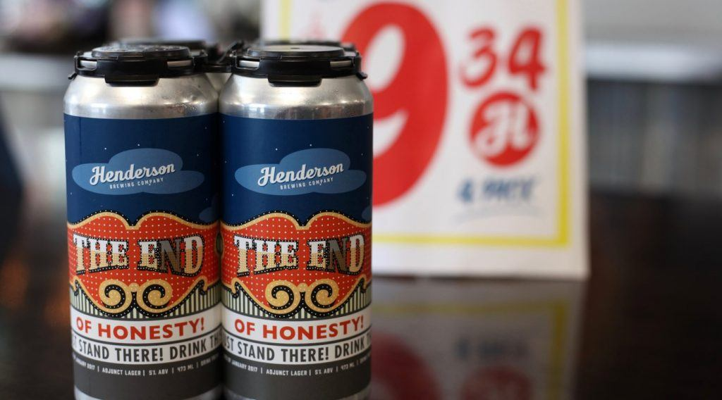 Honest Ed's Beer