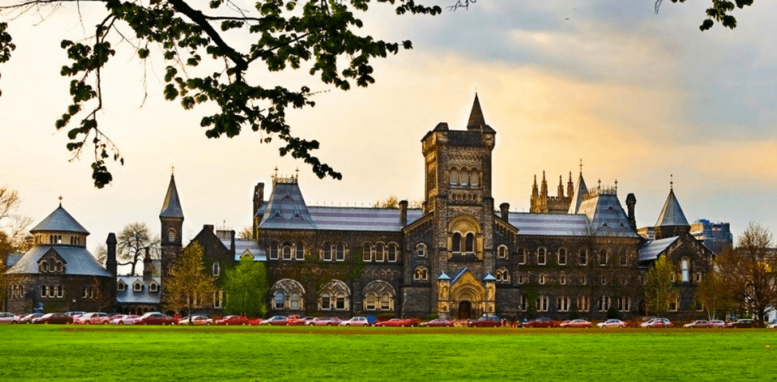 University of Toronto ranks as one of the top universities in the world