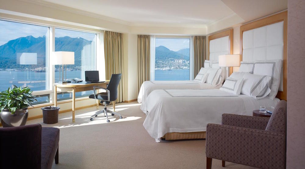 Hotel rooms in Vancouver discounted 39% to 71% for 1-night stays