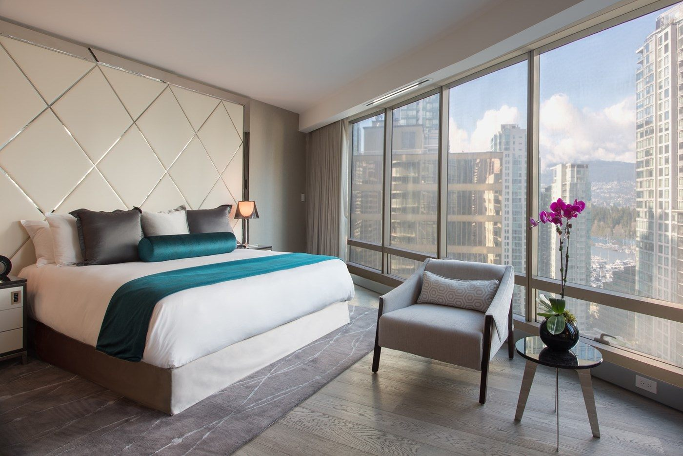 The Grand Deluxe Two-Bedroom Suite in the new Trump Tower in Vancouver (Trump International Hotel and Tower Vancouver)