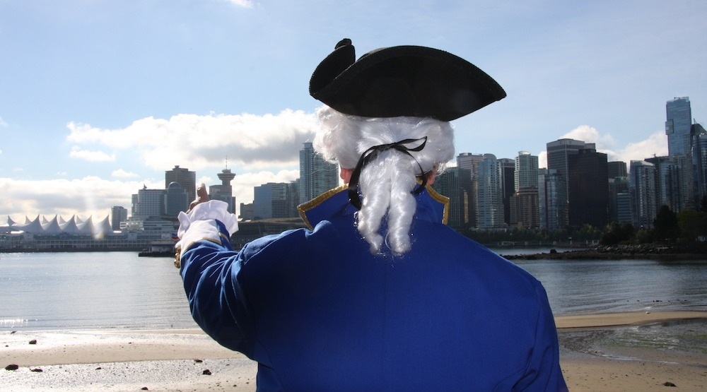 Captain vancouver ian brett