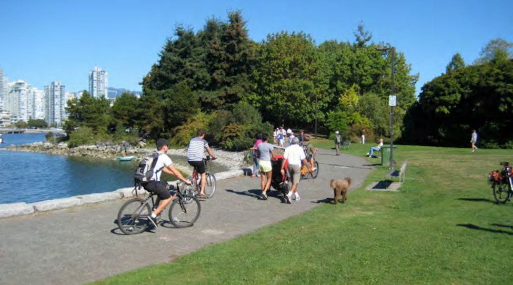 Vancouver Park Board rangers issued 700 physical distance warnings this weekend