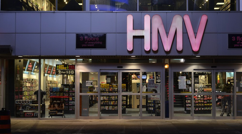 HMV to close all 102 stores across Canada, marking the end of an era