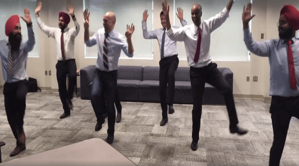 MPs learning how to Bhangra dance is amazing and extremely Canadian (VIDEO)