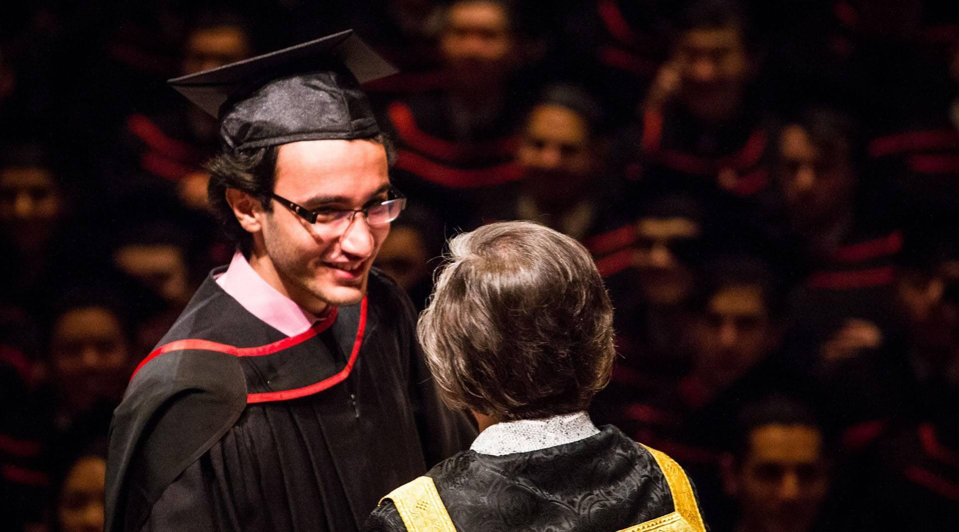 Murtadha Al-Tameemi graduating from UBC in 2013 (Murtadha Al-Tameemi/Facebook)