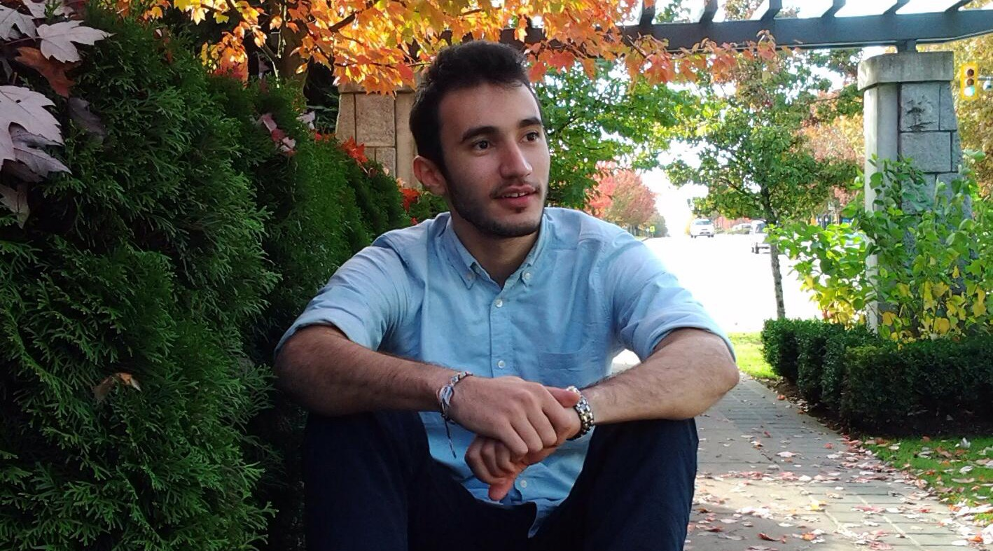 Murtadha Al-Tameemi at UBC (Murtadha Al-Tameemi/Facebook)