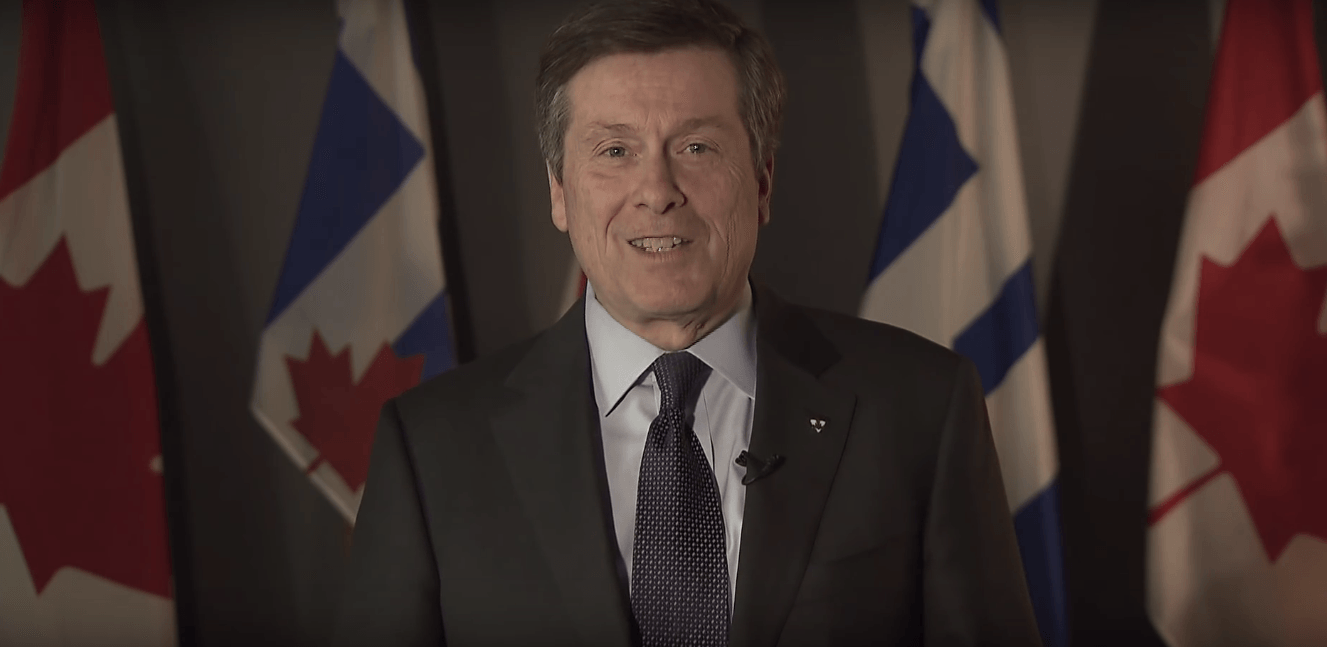 Mayor John Tory releases statement welcoming refugees and immigration to Toronto