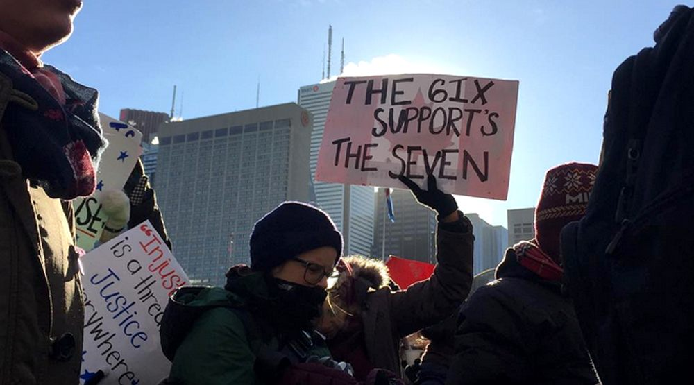 Another Toronto demonstration is planned at the US Consulate this Saturday
