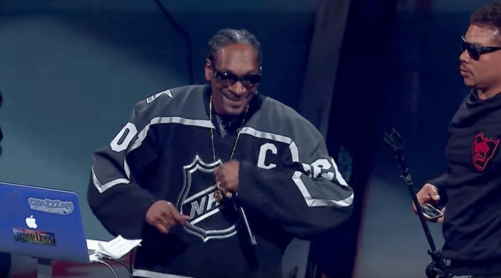 Snoop nhl all star 2017