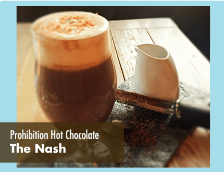 The nash hot chocolate