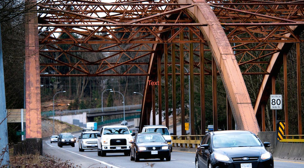 $198 million project to tackle Highway 1 congestion in North Vancouver