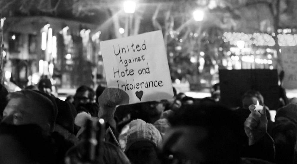 11 photos and videos from last night's vigil in Calgary honouring the victims of Quebec City