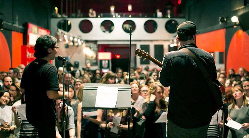 Choir! Choir! Choir! hosting massive protest sing-along next week