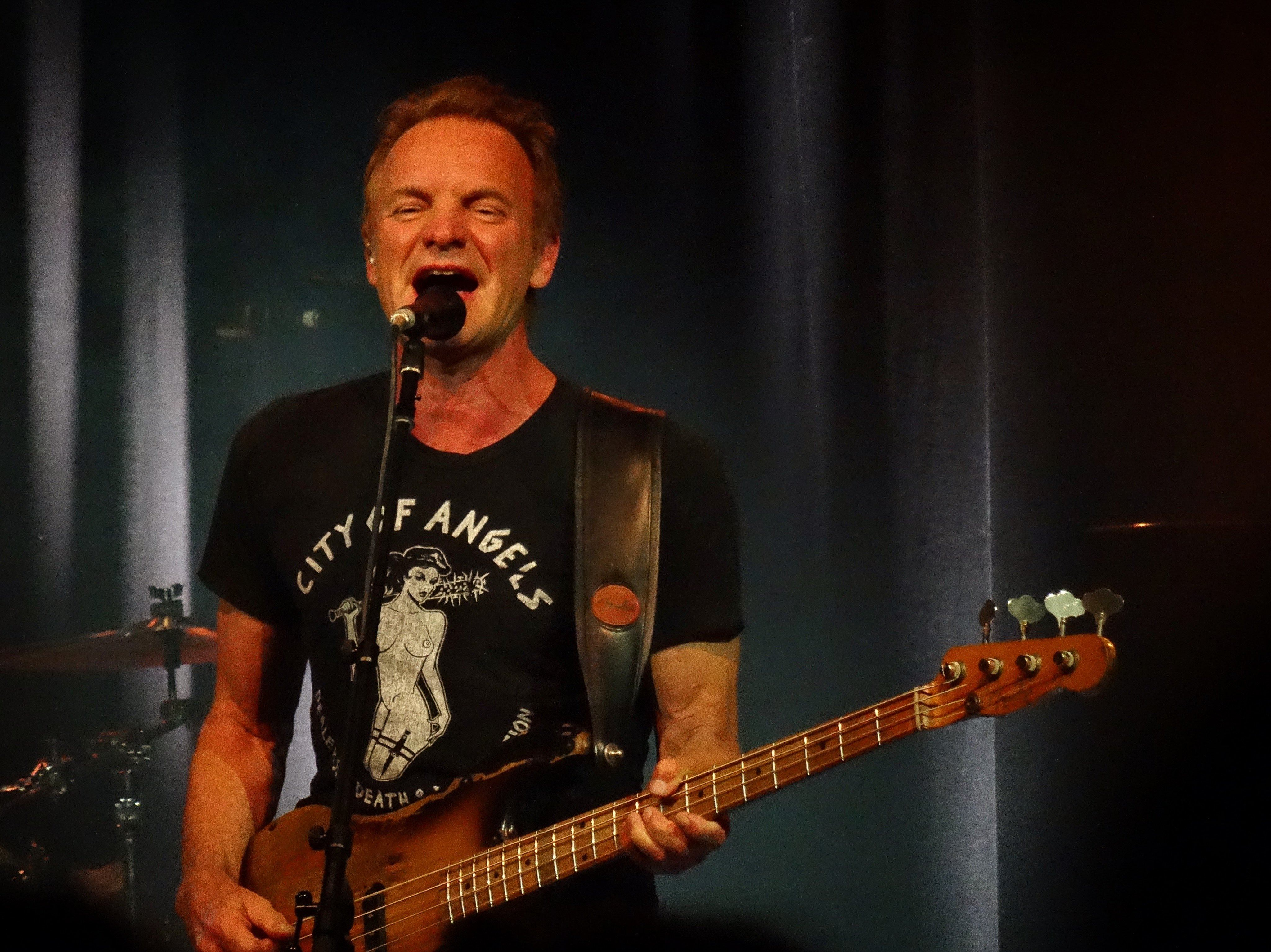 Englishman in Vancouver: Sting kicks off club tour at Commodore Ballroom