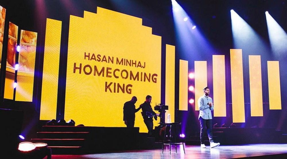 Hasanminhaj   netflx stage