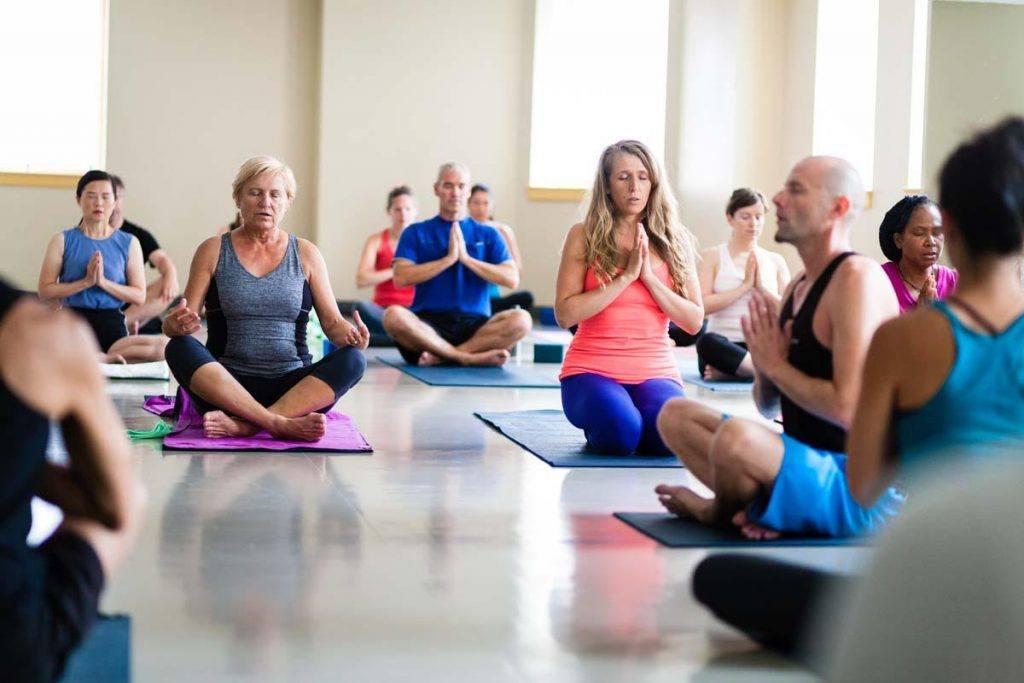 YMCA yoga