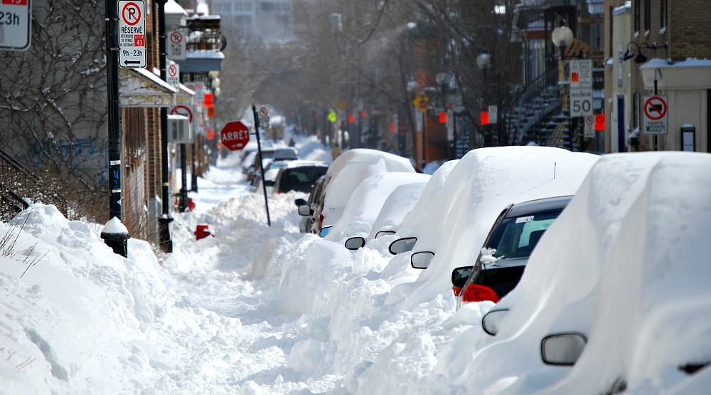 Montreal to receive half a foot of snow next week