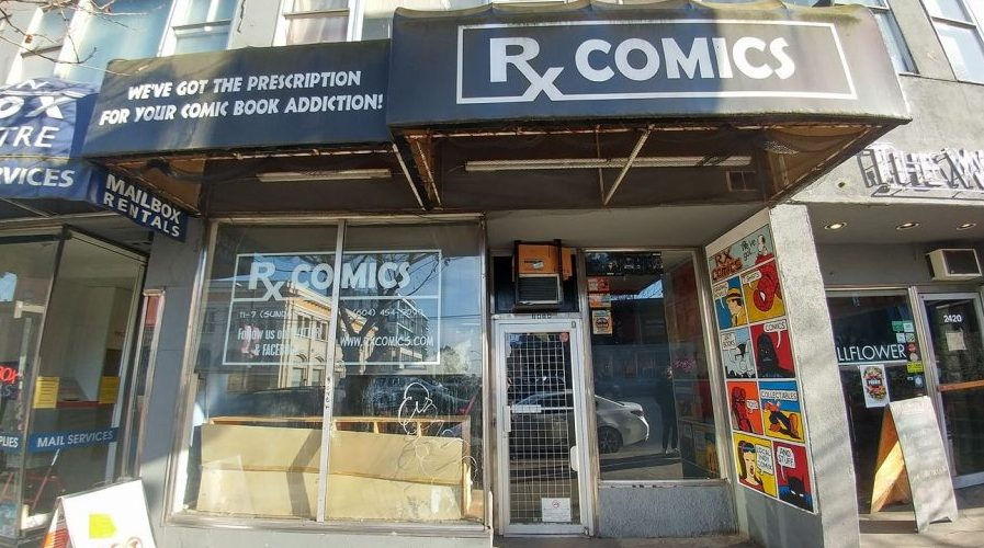 Mount Pleasant's RX Comics closes its doors for good