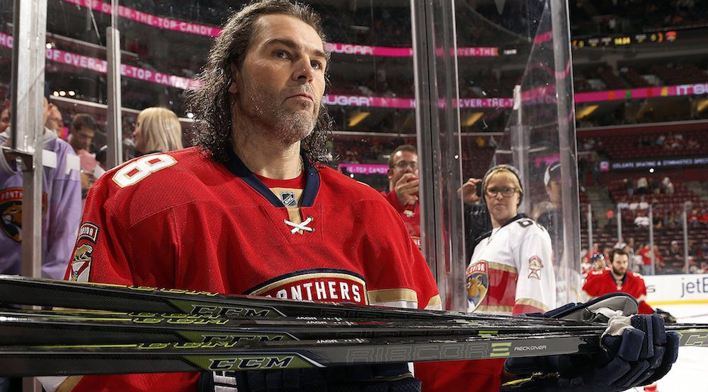 Report: Flames have looked at signing Jaromir Jagr