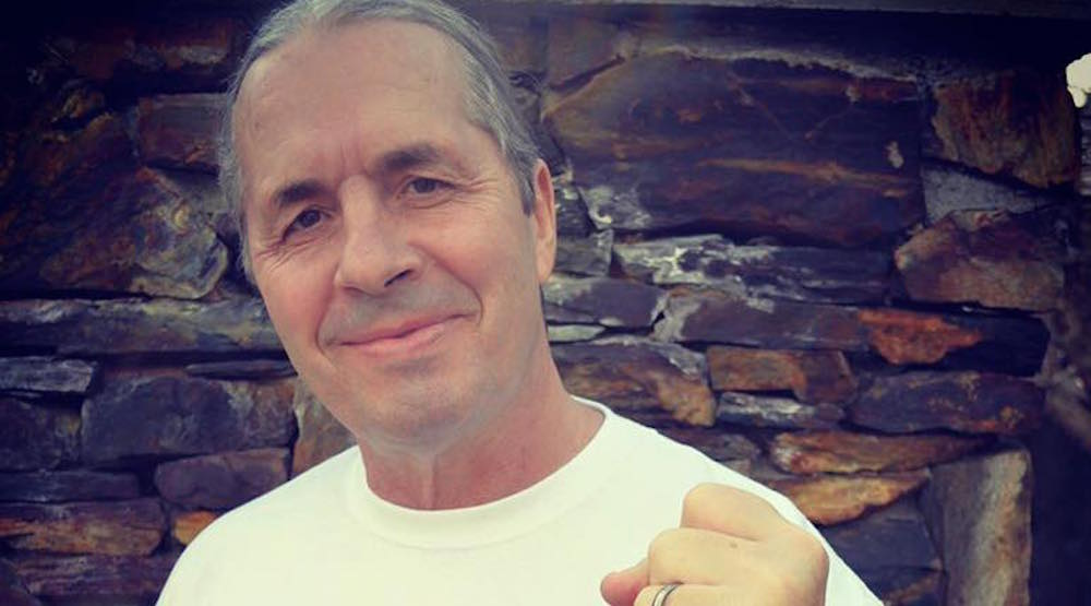 """Bret """"The Hitman"""" Hart defeats prostate cancer"""