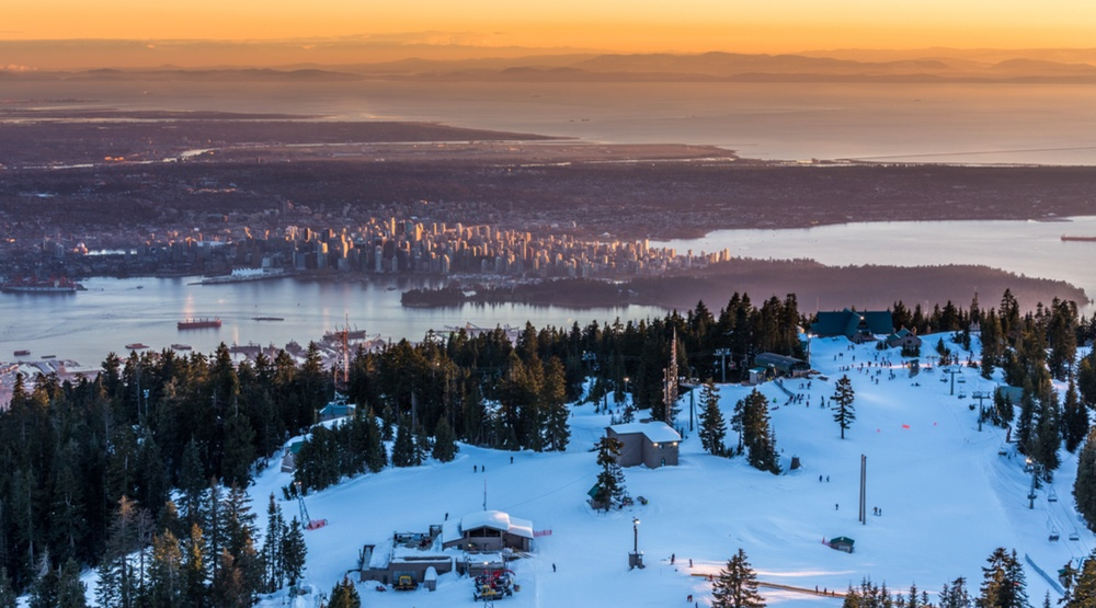 Vancouver winter grouse mountain