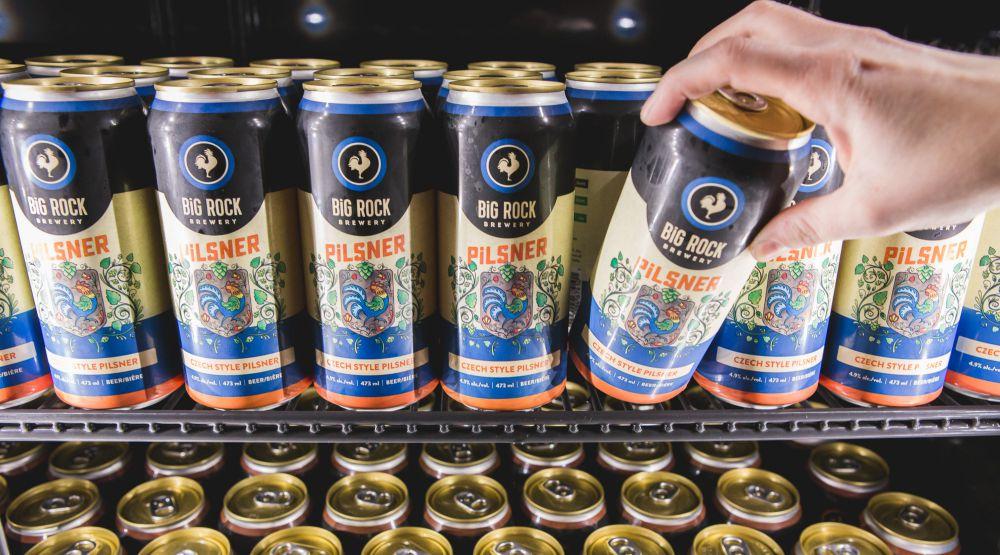 Beer big rock