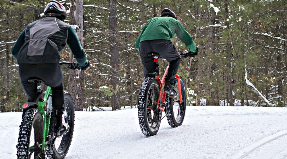 bikes snow