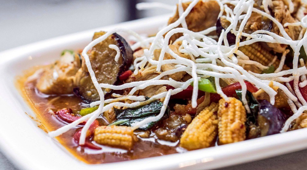 Bring the squad for a Thai food feast at Pink Elephant Thai
