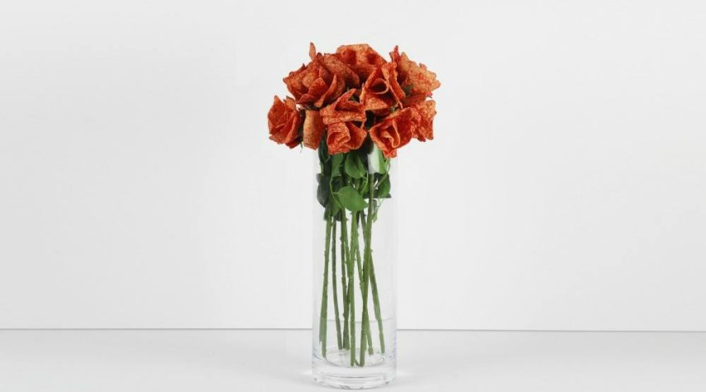 Surprise your lover with Doritos Ketchup Roses this Valentine's Day
