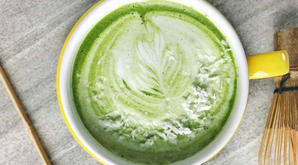 The Blenz Coconut Matcha Latte is the perfect winter cure