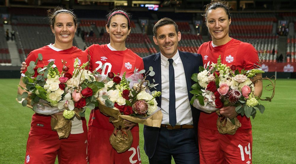 22,508 people say goodbye to Tancredi, Wilkinson, Nault at Canada bronze medal celebration (VIDEO)