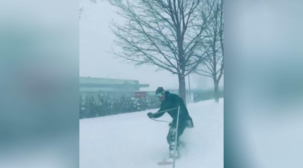 Chilliwack snowboarder
