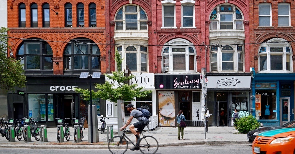 Queen Street West's new parkettes with free WiFi officially open this weekend