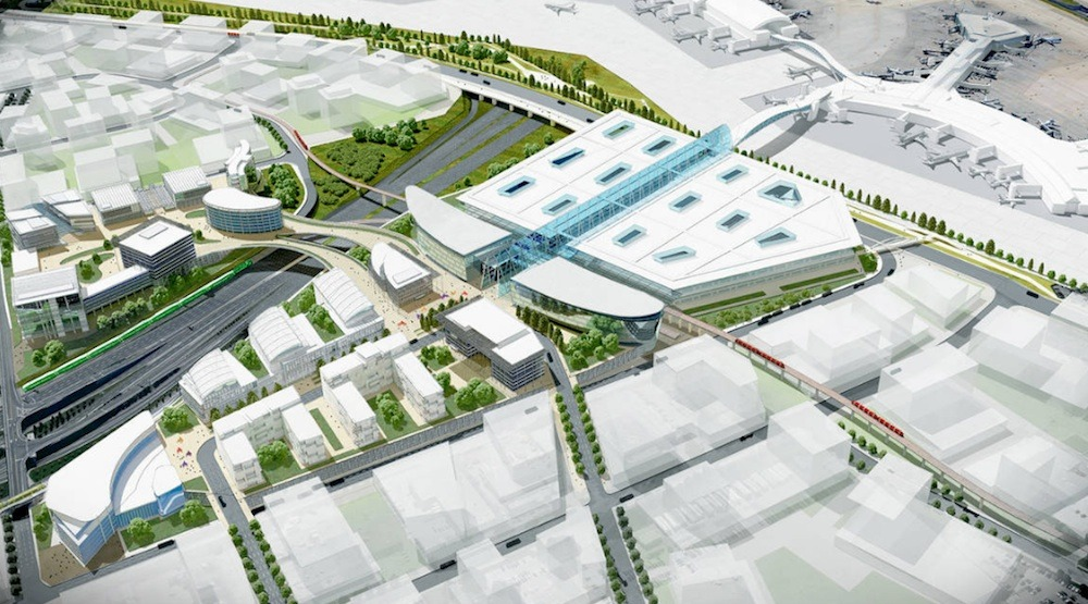 Toronto Pearson Airport plans new massive rail transit hub with hotels, office, and retail