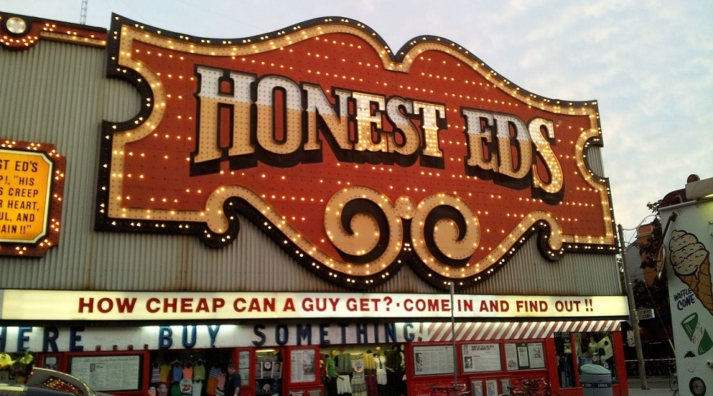 The Honest Ed's sign will be preserved, moving to Ed Mirvish Theatre