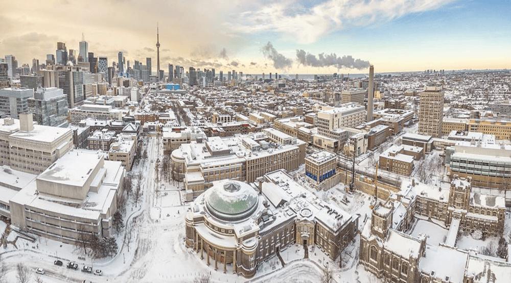 Toronto currently has a 60-70% chance of getting a white Christmas this year