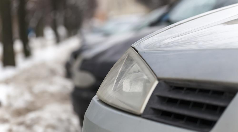 Car parked winter shutterstock