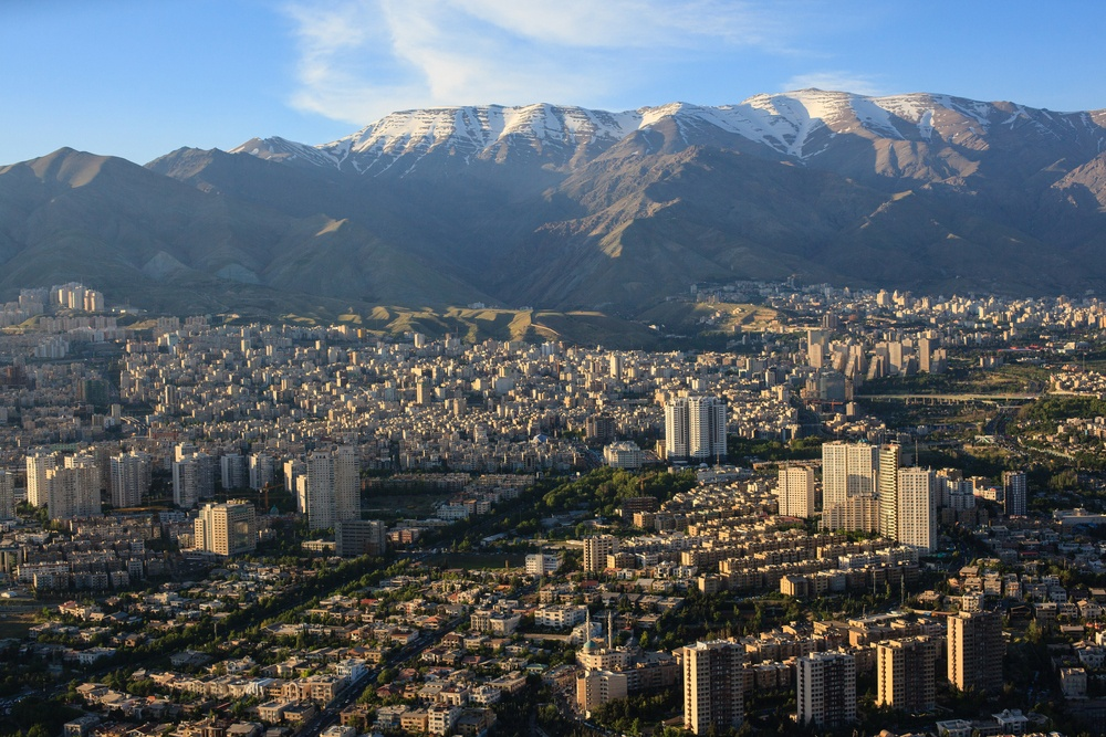A view of Tehran, the capital of Iran (Tatiana Murr/Shutterstock)