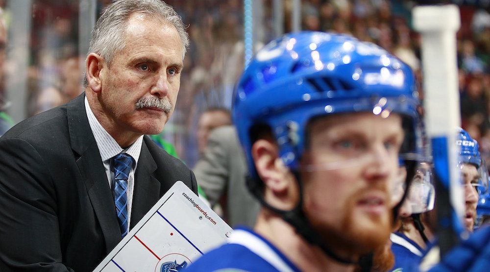 Willie Desjardins is coaching himself out of a job with Canucks