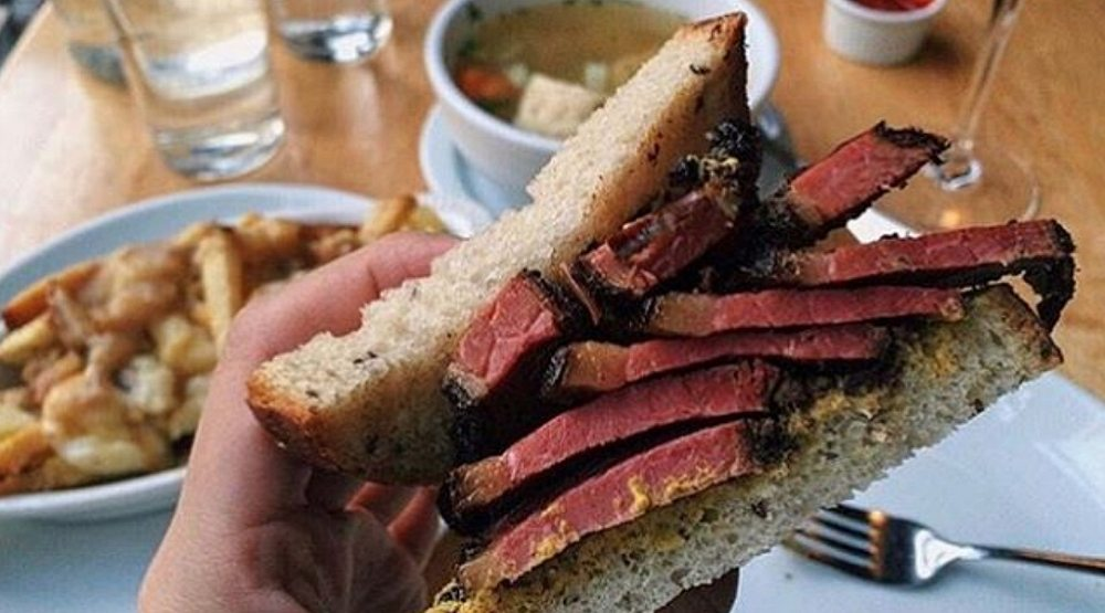There is a Montreal-style deli in New York City