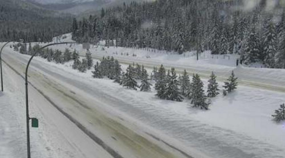 Coquihalla Highway currently closed southbound between Merritt and Hope due to accident