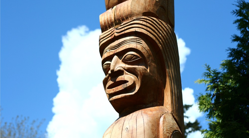 First nations pole in vancouver tyler boyesshutterstock
