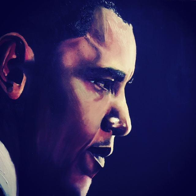 """Barack Obama"" by Carling Jackson (Carling Jackson)"