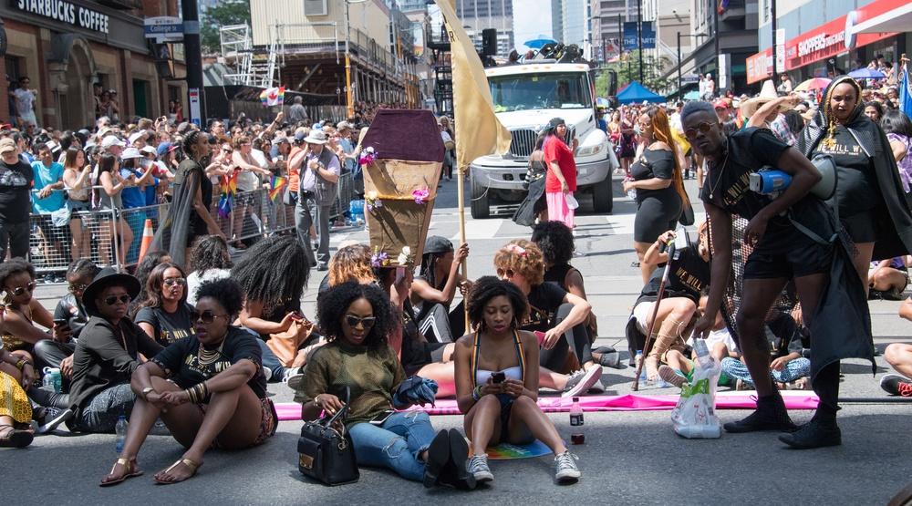 Black lives matter pride toronto pride parade
