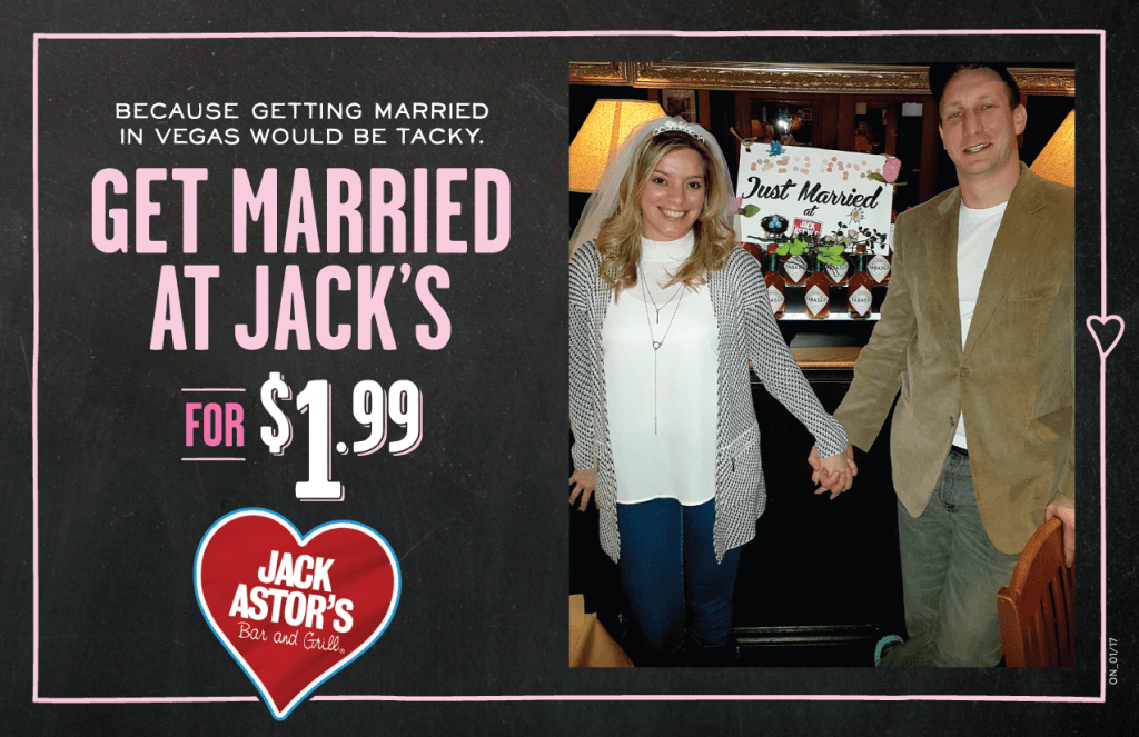 1.99 wedding jack astors