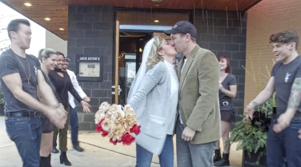 $1.99 weddings are now on the menu at Jack Astor's