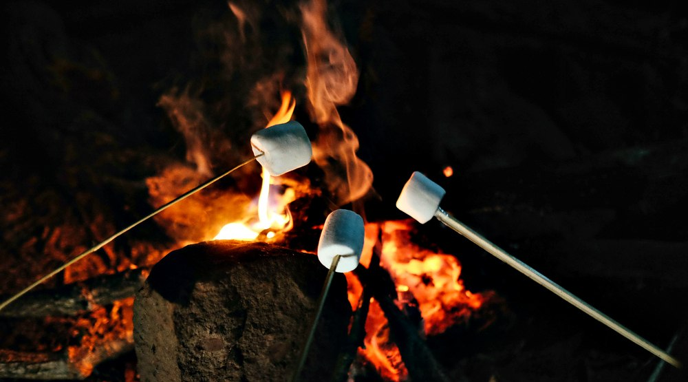 You can roast marshmallows on a campfire in downtown Montreal this winter