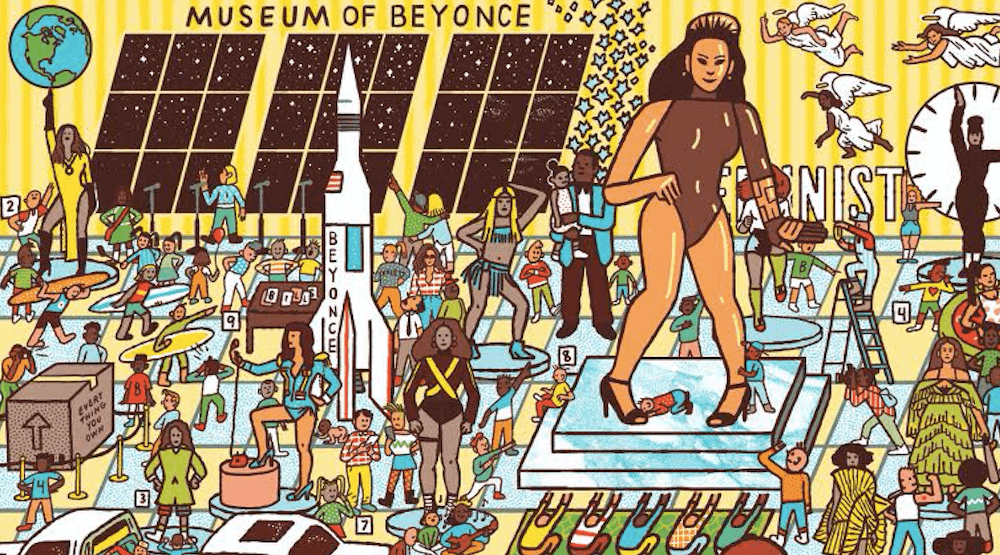 This 'Where's Waldo'-inspired Beyoncé book is what every Queen Bey fan needs right now