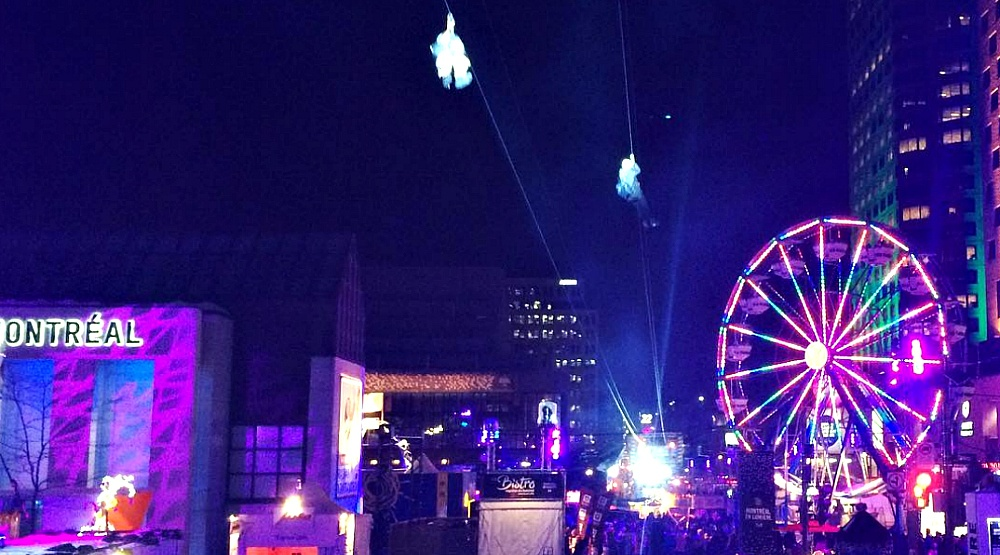 A zipline is coming to downtown Montreal this month