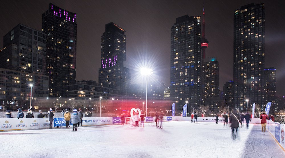 Toronto just got a brand new public skating rink downtown